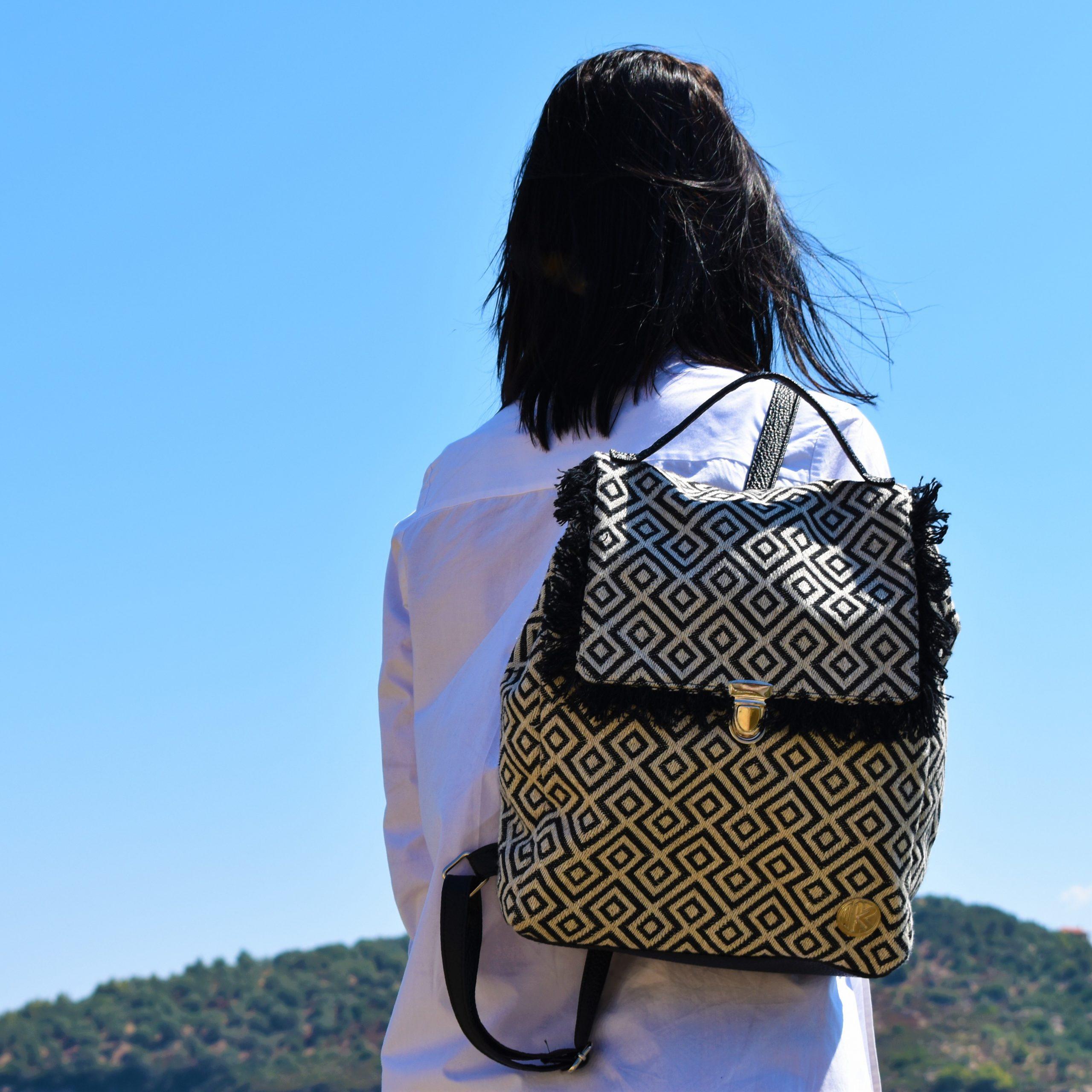 Τσάντα πλάτης Nero