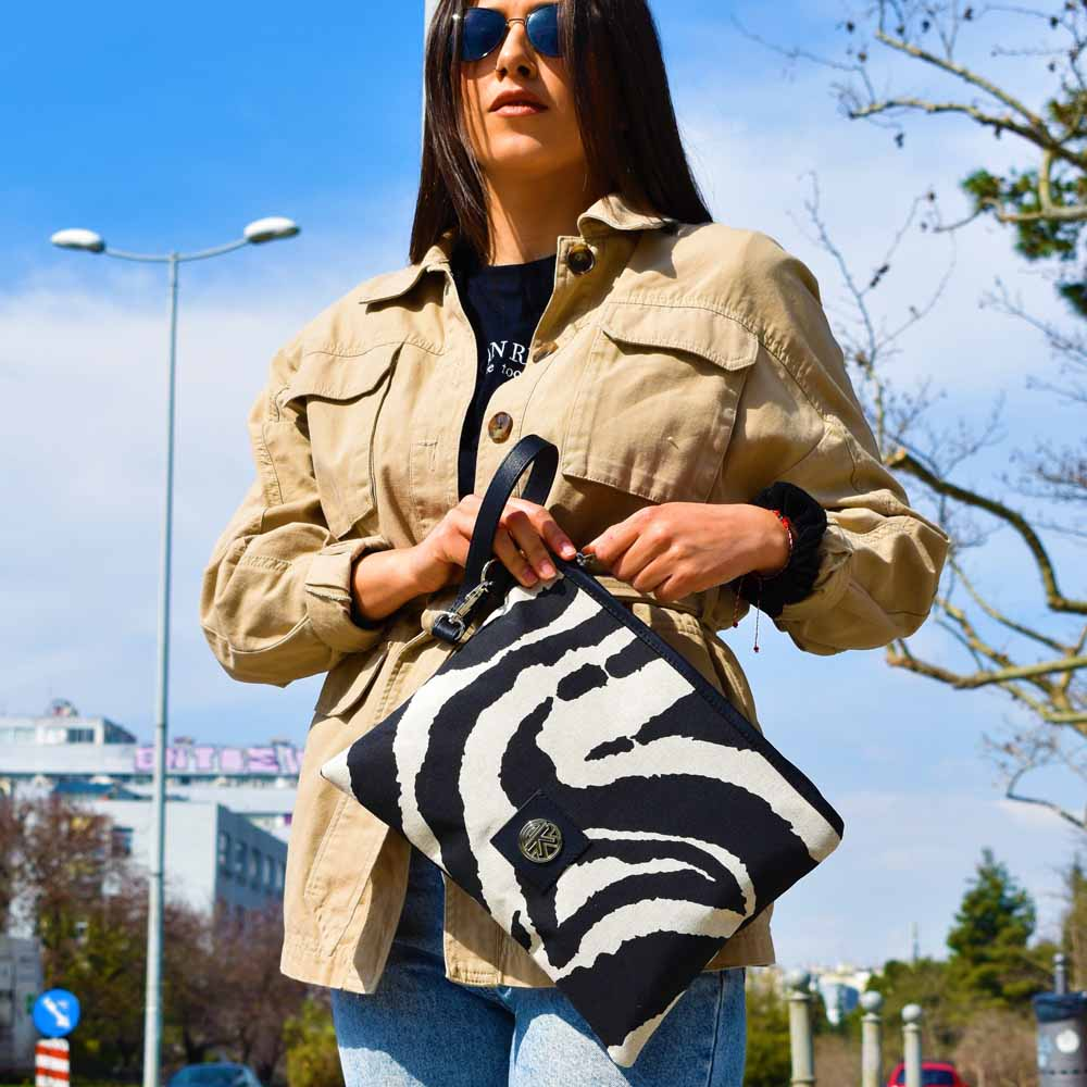 Τσάντα χειρός Katrin Zevra